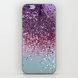 Unicorn Girls Glitter #6 #shiny #pastel #decor #art #society6 iPhone Skin