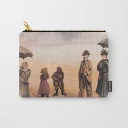 Victorian's Day at the Beach Carry-All Pouch