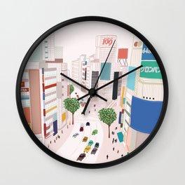 Shibuya 109 Wall Clock