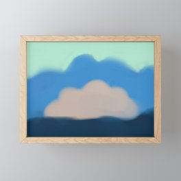 Blue Sky Electric Framed Mini Art Print