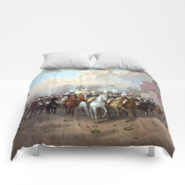 General Washington Enters New York Comforters