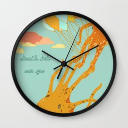 Don't Let Me Go Wall Clock