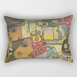 James Joyce, Ulysses.  Rectangular Pillow