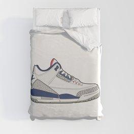 Jordan 3 True Blue Duvet Cover
