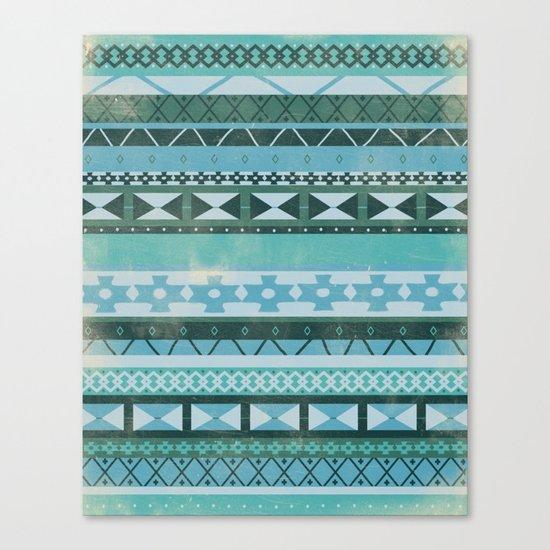 Native Spirit (cool version) Canvas Print