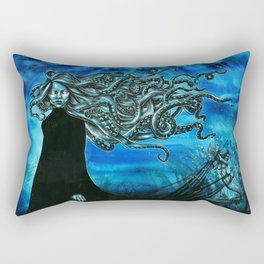 The mermaid hunter Rectangular Pillow