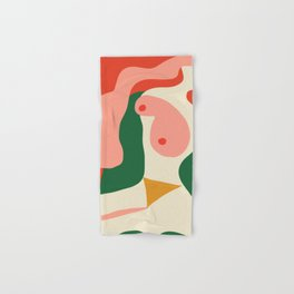 abstract nude 2 Hand & Bath Towel