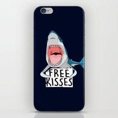 Free kisses iPhone & iPod Skin
