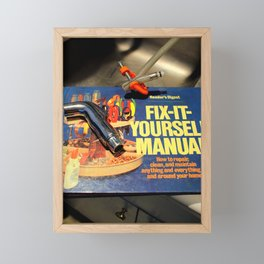 I Get By With A Little Help Framed Mini Art Print