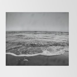 BEACH DAYS XXIII BW Throw Blanket