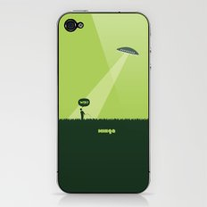 WTF? Ovni! iPhone & iPod Skin