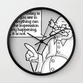 Art Print: Fun with Censorship - Scientist Dong Wall Clock