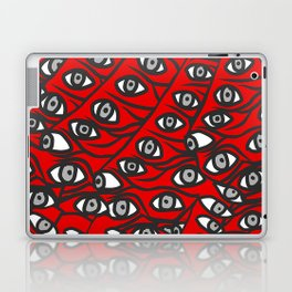 Freddie Eyeballs Red Laptop & iPad Skin