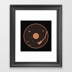 The Vinyl System Framed Art Print