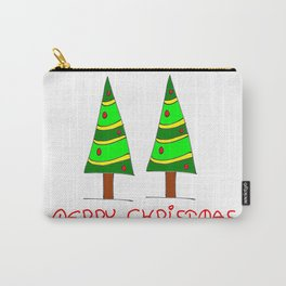 Christmas tree-pine,Yule-tree,Christmas,garlands,baubles,tinsel,evergreen,Star of Bethlehem, family Carry-All Pouch