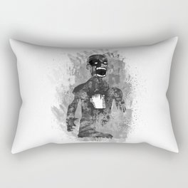 Zombie Scream Rectangular Pillow