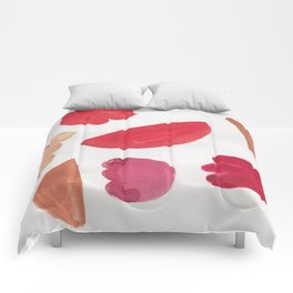 38    | 190408 Red Abstract Watercolour Comforters