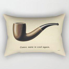 This is not a joke about comic sans. Rectangular Pillow