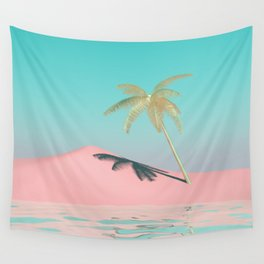 Palm Tree Oasis Wall Tapestry