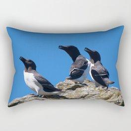 Ninjas in feathers Rectangular Pillow