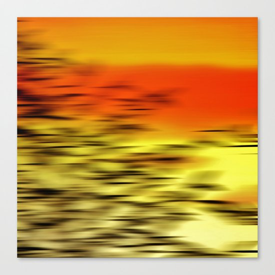 Warm whisper Canvas Print