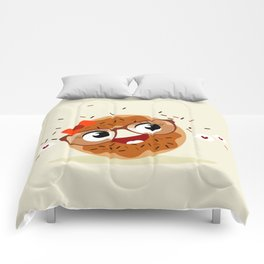 Donut caramel Comforters