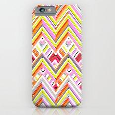 Citrus Chevron iPhone 6s Slim Case