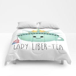 Lady Liber-tea Comforters