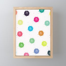 Color Splash Framed Mini Art Print