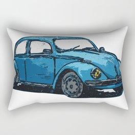 Rusty Bug Rectangular Pillow