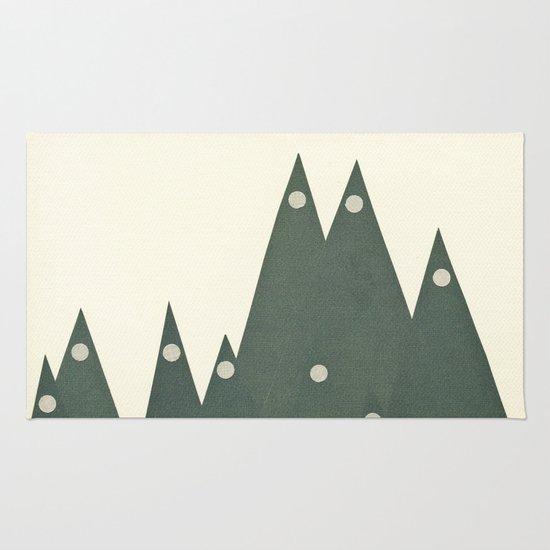 Moonlit Peaks Rug