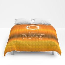 Chakra Series Svadhishthana(Second Chakra)Affirmation Comforters