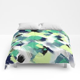 Abstract pattern 153 Comforters