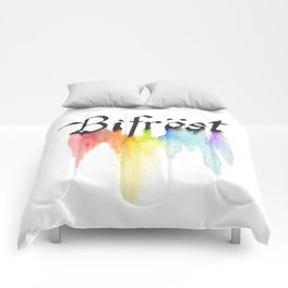 Bifrost the road to Valhalla Comforters
