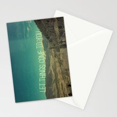 Let Things Come To You Stationery Cards