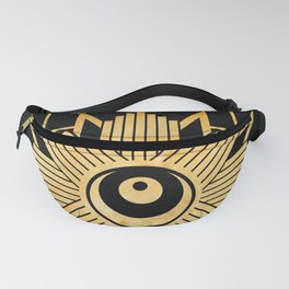 Graphic 960 // Gold Eye Star Deco Fanny Pack