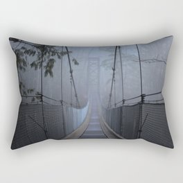 Bridge in the Mist Rectangular Pillow