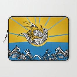 Phoenix Over The Sea Laptop Sleeve
