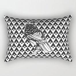 Tui Chevron Design - Dark Rectangular Pillow