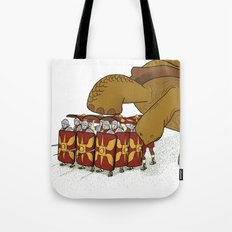 Roman turtle formation Tote Bag