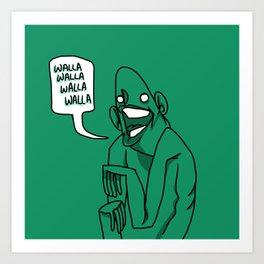 walla walla Art Print