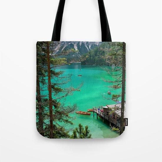 Pragser Wildsee Tote Bag