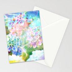 Hydrangeas in Water Stationery Cards