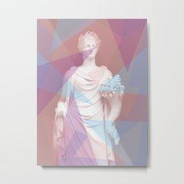 Geometric Goddess Metal Print
