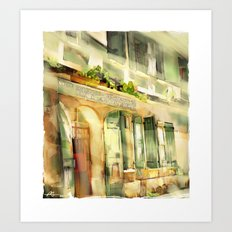 Old Ministry Of Transport Building / Haiti / 06 Art Print