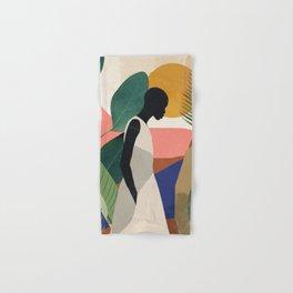 Tropical Girl Hand & Bath Towel
