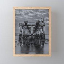Old Wooden Bridge 2 Framed Mini Art Print