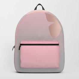 Rose gold butterfly Backpack