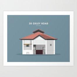 38 Oxley Road, Singapore [Building Singapore] Art Print