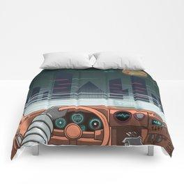 Night driver Comforters